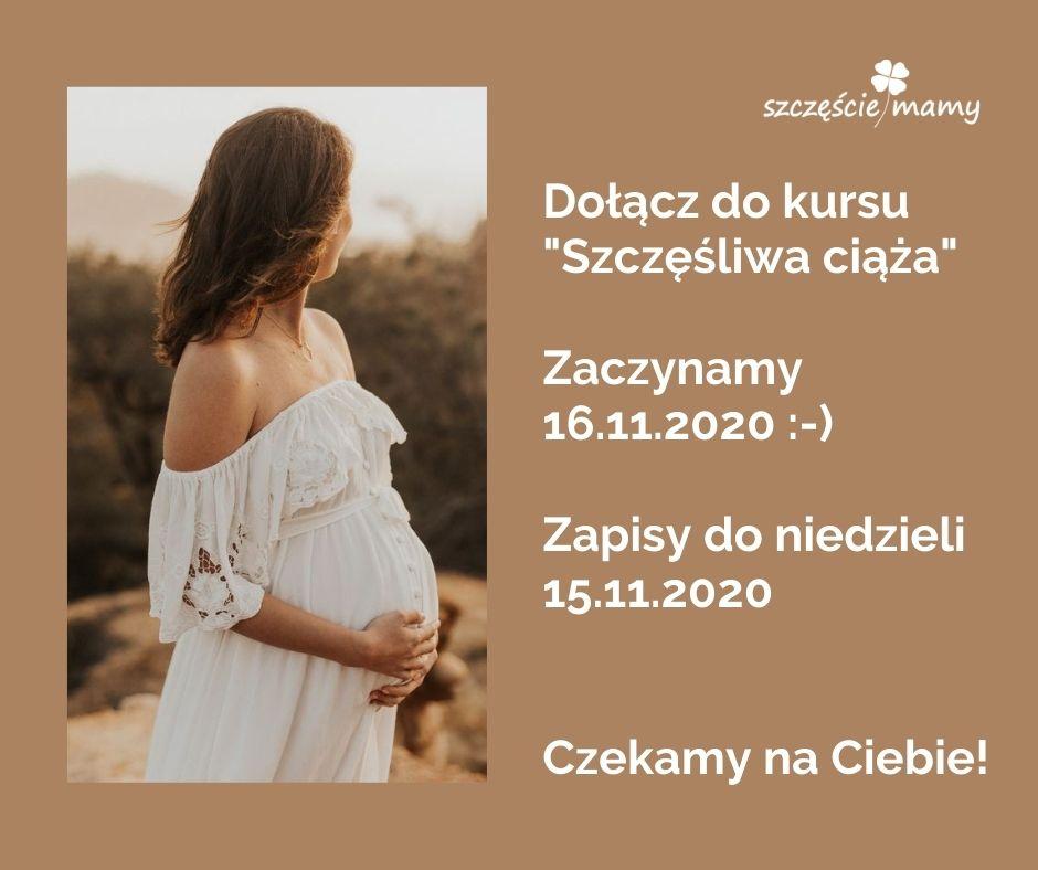 Kurs Szczęśliwa ciąża online :-)